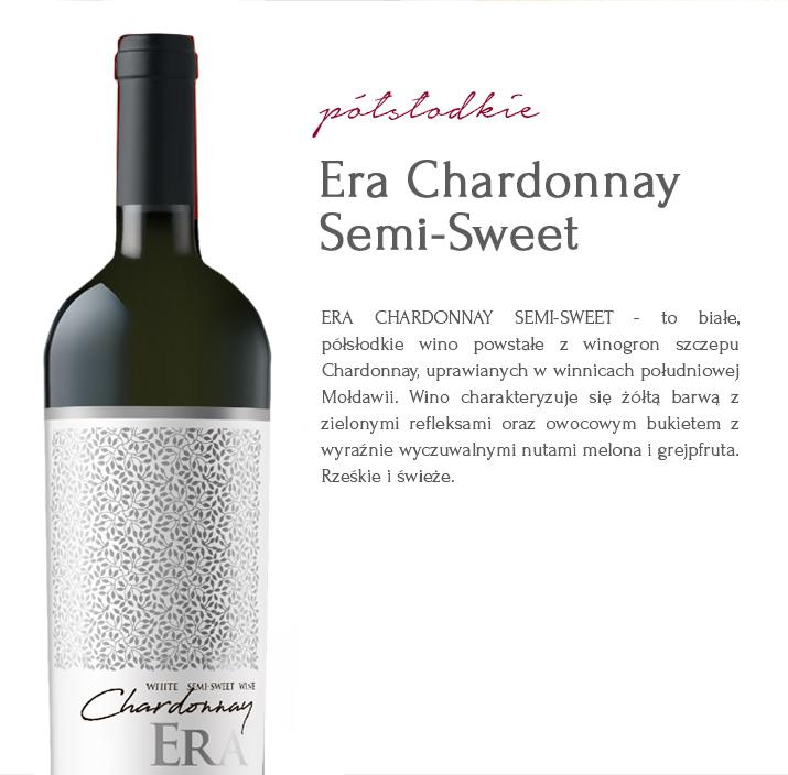WINO Era Chardonnay Semi-Sweet