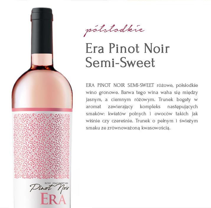 WINO Era Pinot Noir Semi-Sweet